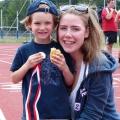 Medaillen Volunteers