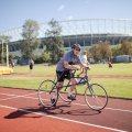 M. Zehmann, Racerunner, 100m, Foto: ÖBSV/MarkusFrühmann