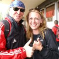 Mit Trainer Charly immer in guter Laune Berlin 2008
